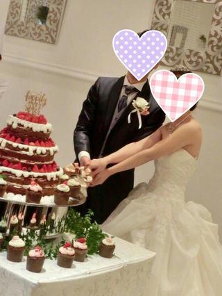 成婚者より挙式のお写真が届きました(*^^)v