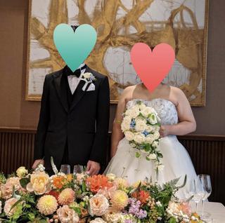 【結婚式のご報告】~諦めないメンタル~